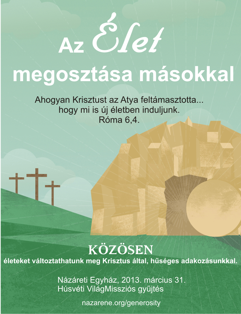 World Evangelism Fund Promotion | Eurasia Region