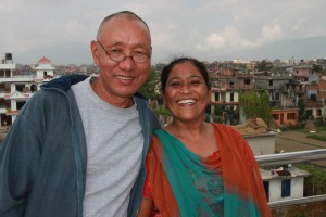 Dilli and wife