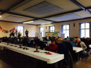 German refugee banquet
