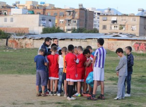 Football Albania - prayer