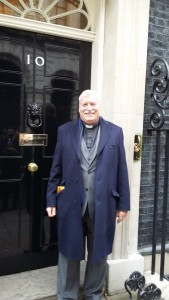 Phil Rawlings met with Christian and Muslim faith leaders at the Prime Minister David Cameron's office in London, United Kingdom, for an Easter reception on March 23, 2016.
