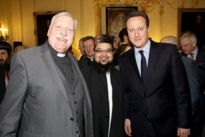 Phil with David Cameron