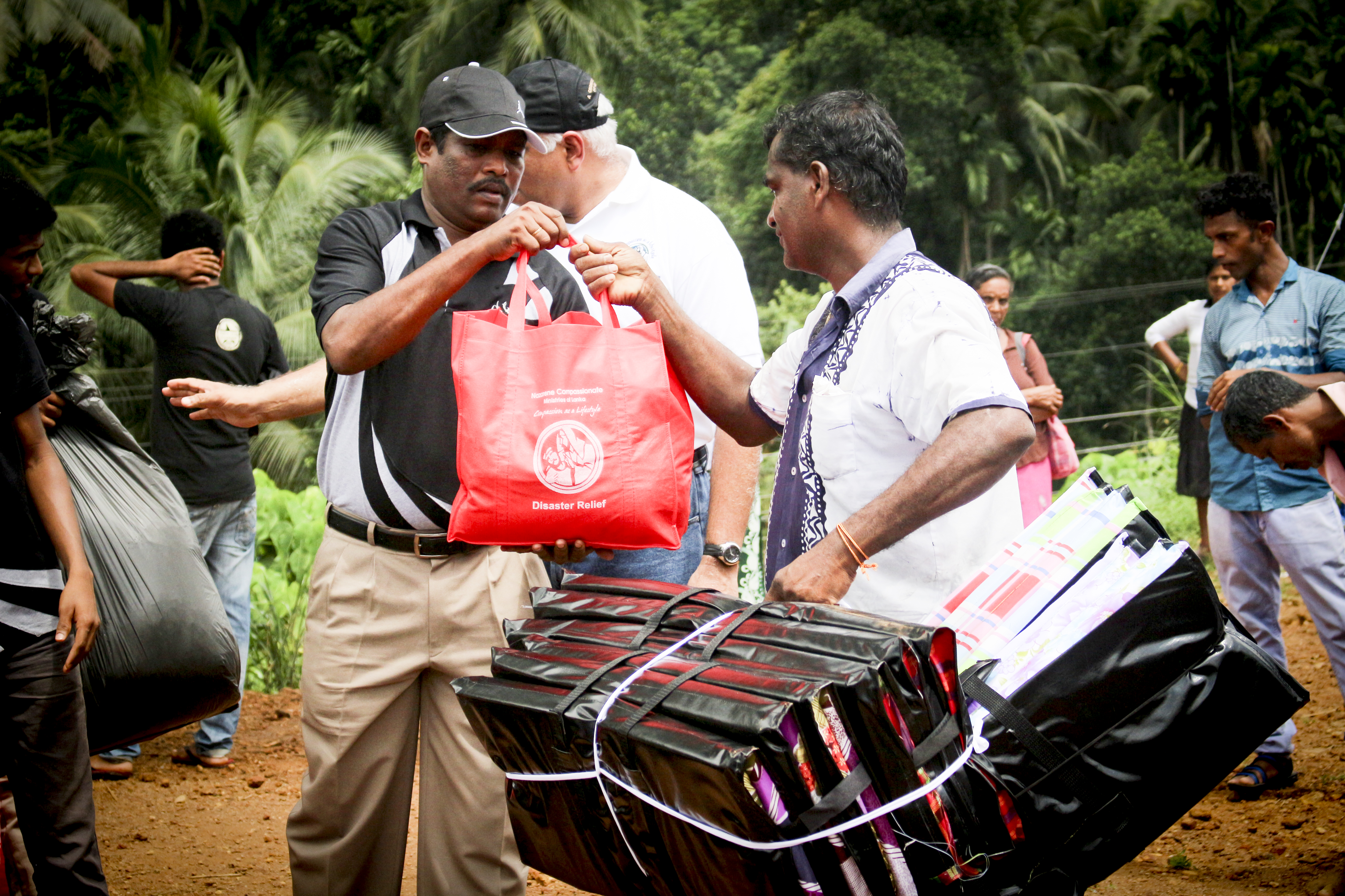 Photo Story Ncm Lanka Brings Disaster Relief To Landslide