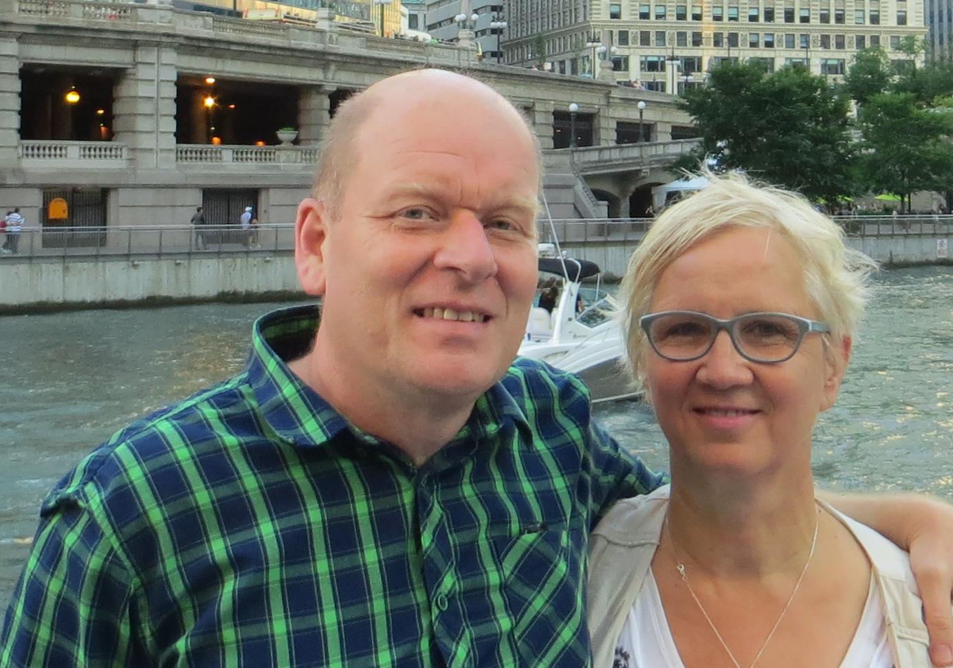 Arthur and Annemarie - Regional Director
