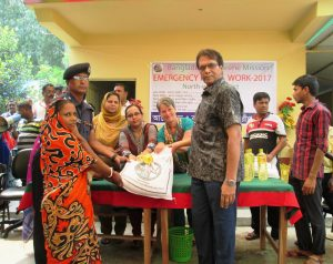 10,000 receive assistance after Bangladesh ravaged by flood