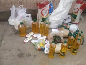 Armenia food distribution during pandemic