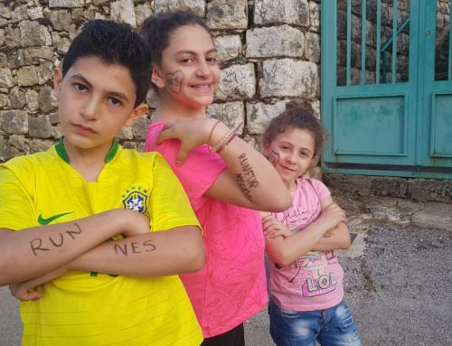 Nazarenes raise 8,000 euro in jog-a-thon