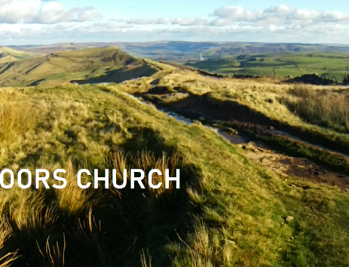 Outdoors Church holds services while on group hikes in England's Peak District