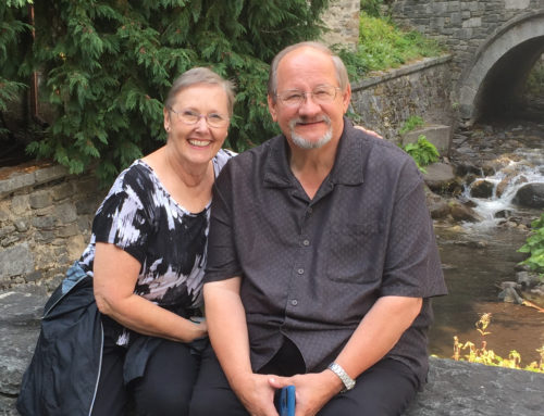 Separated across continents, couple sees God meeting their needs