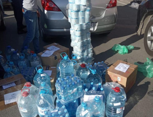 Nazarenes in Armenia are providing food and hygiene relief packages
